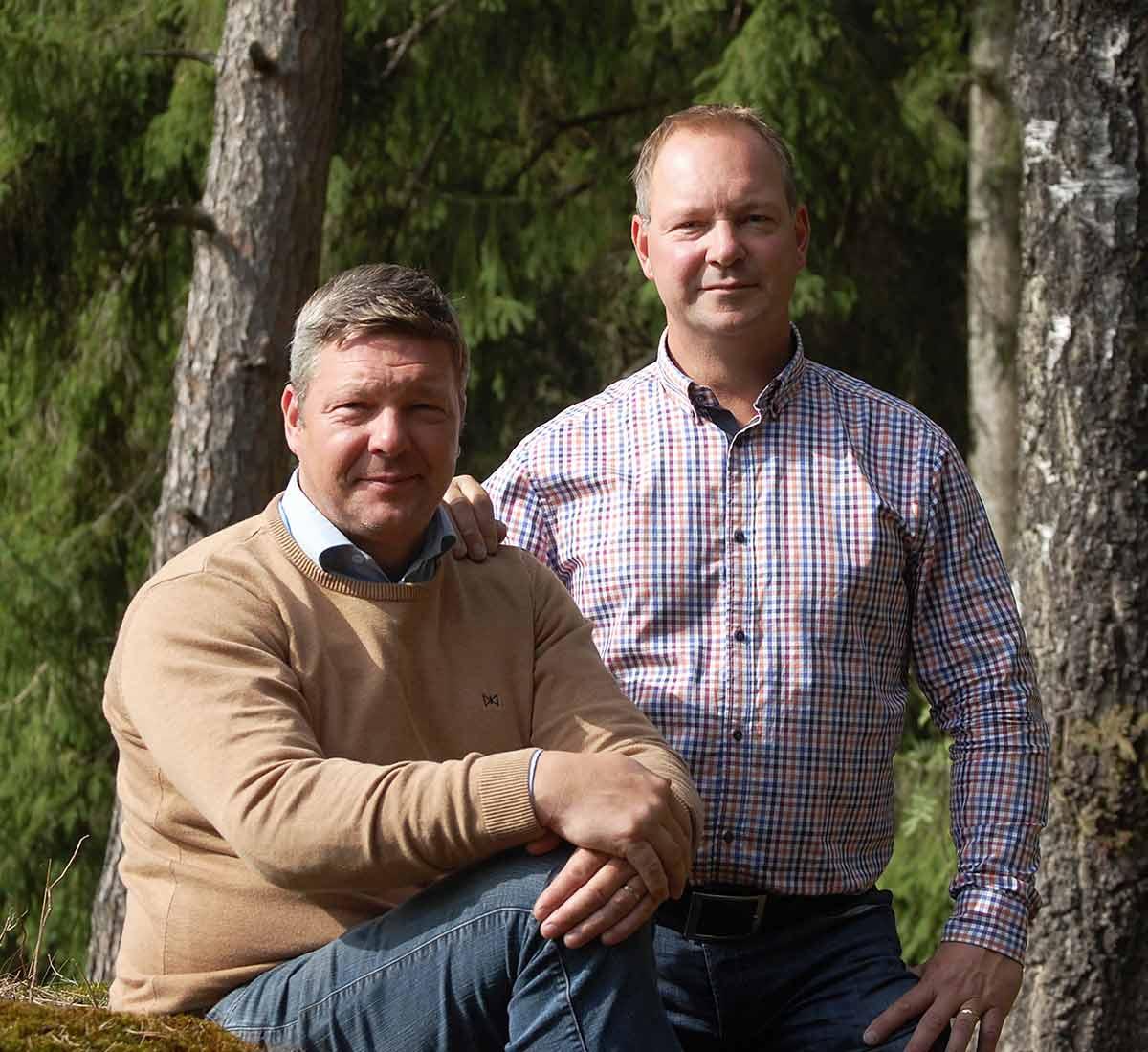 Christoffer och Stefan Jern