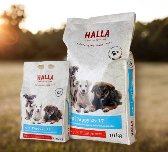 Halla Pet Food – Valp