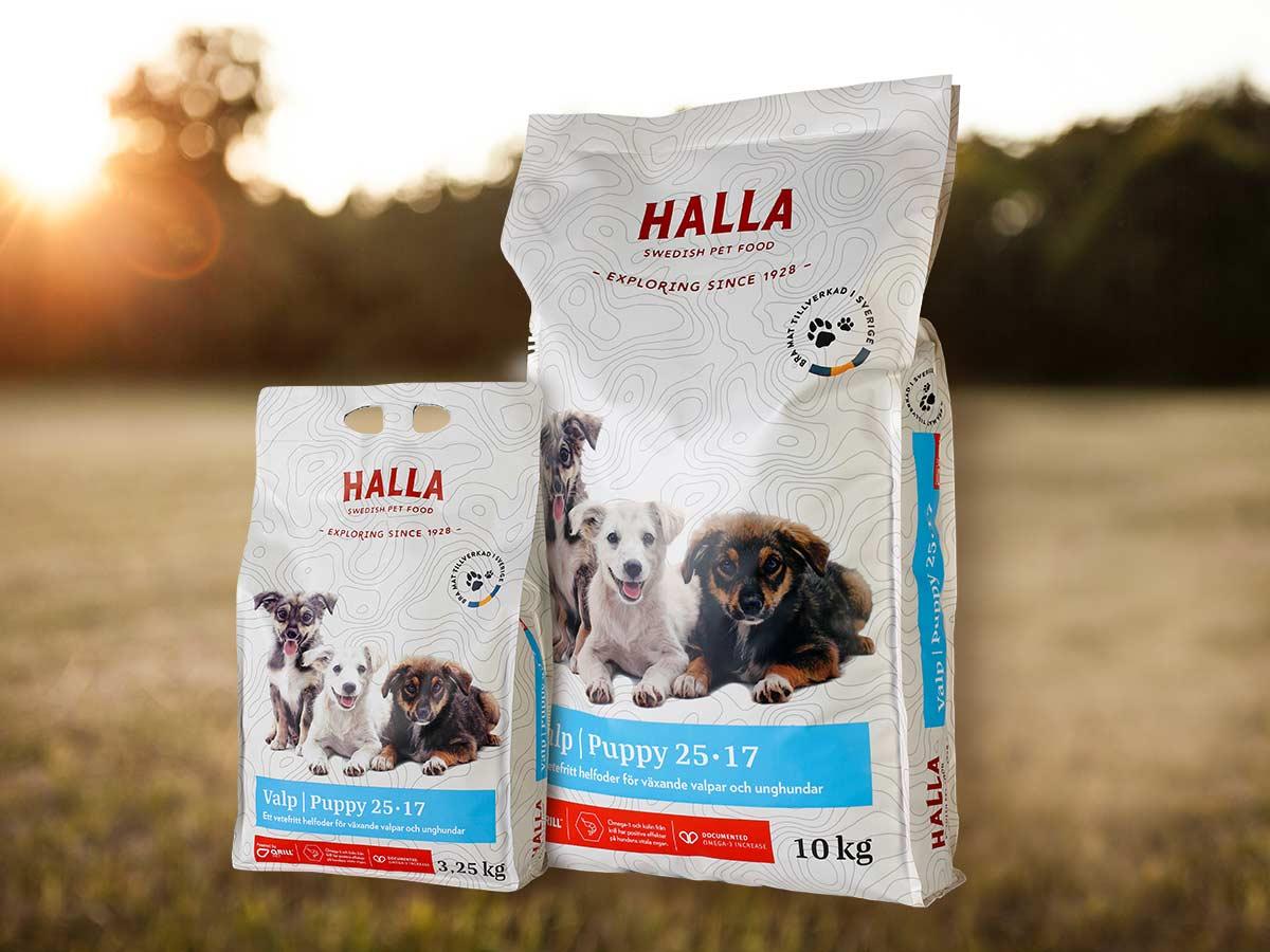 Halla Pet Food – Valp